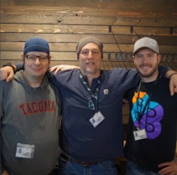 Kevin Heiderich, Michael Endicott, Michael McDonald